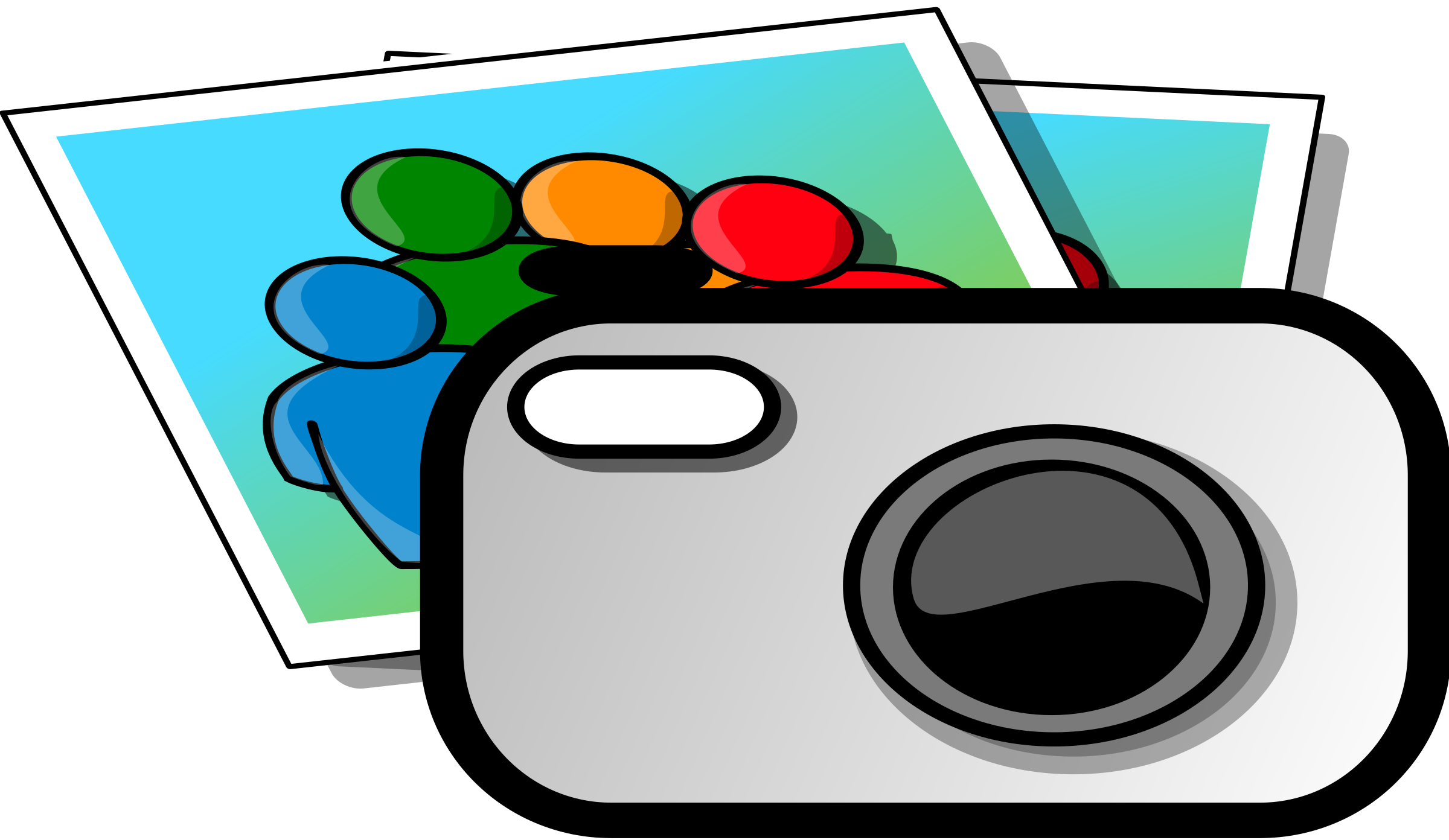 Photo camera big image. Yearbook clipart clip art