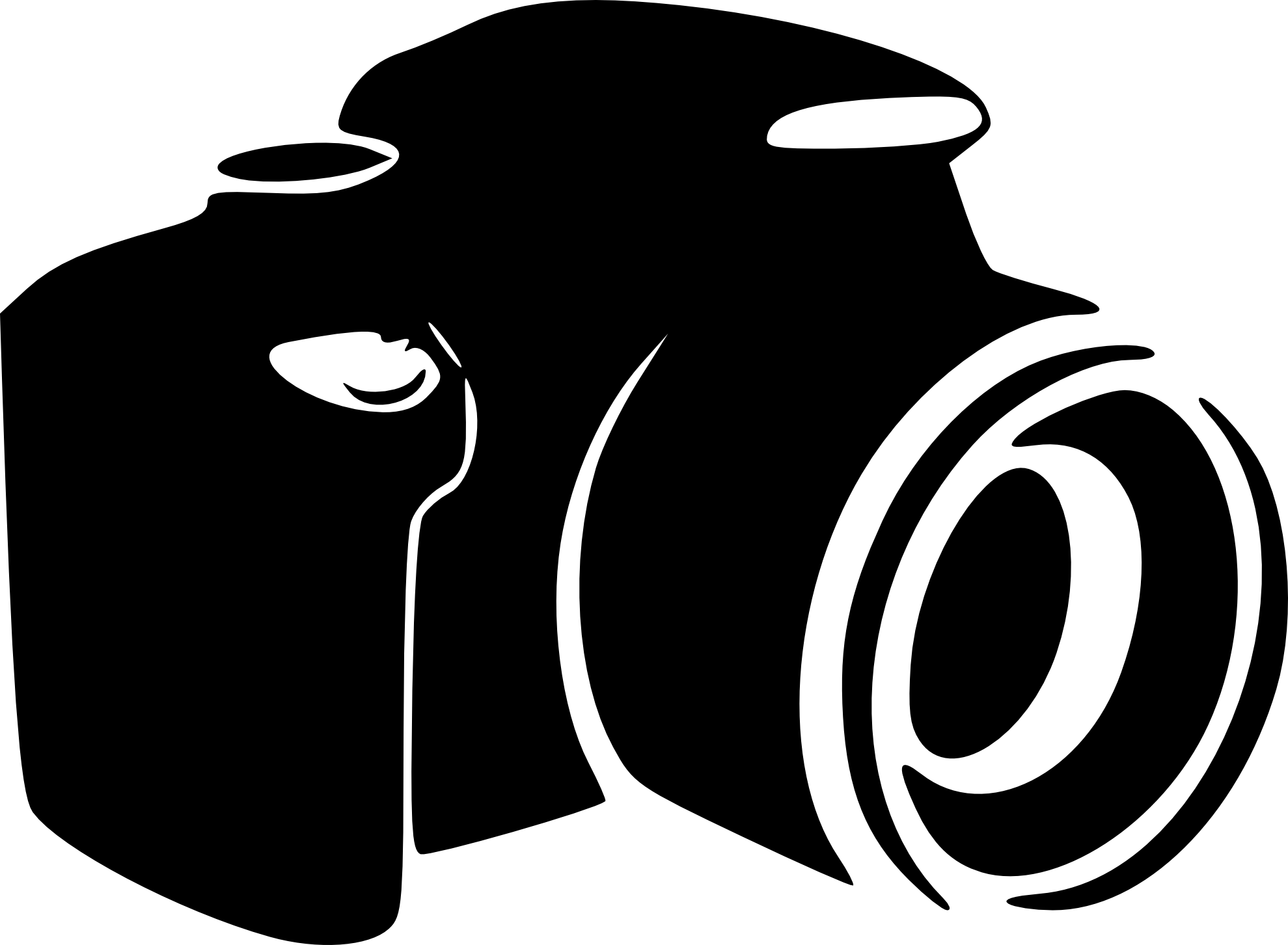 for logo. Moving clipart camera