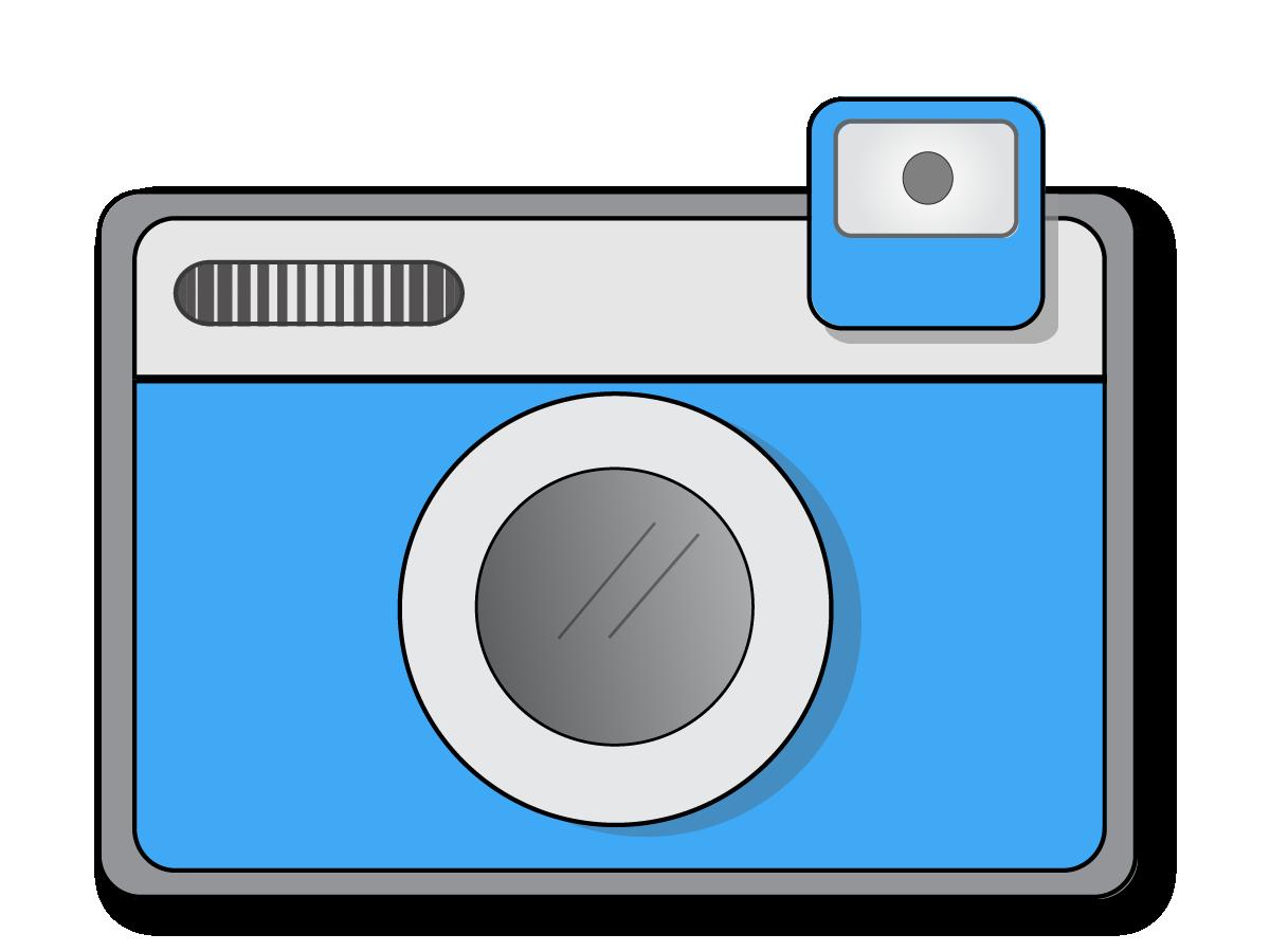 Image of flash clipartoons. Clipart camera borders