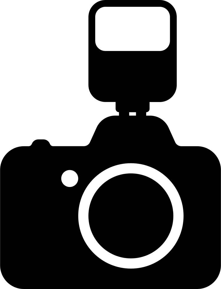 Yearbook clipart camera flash. Photo with a svg