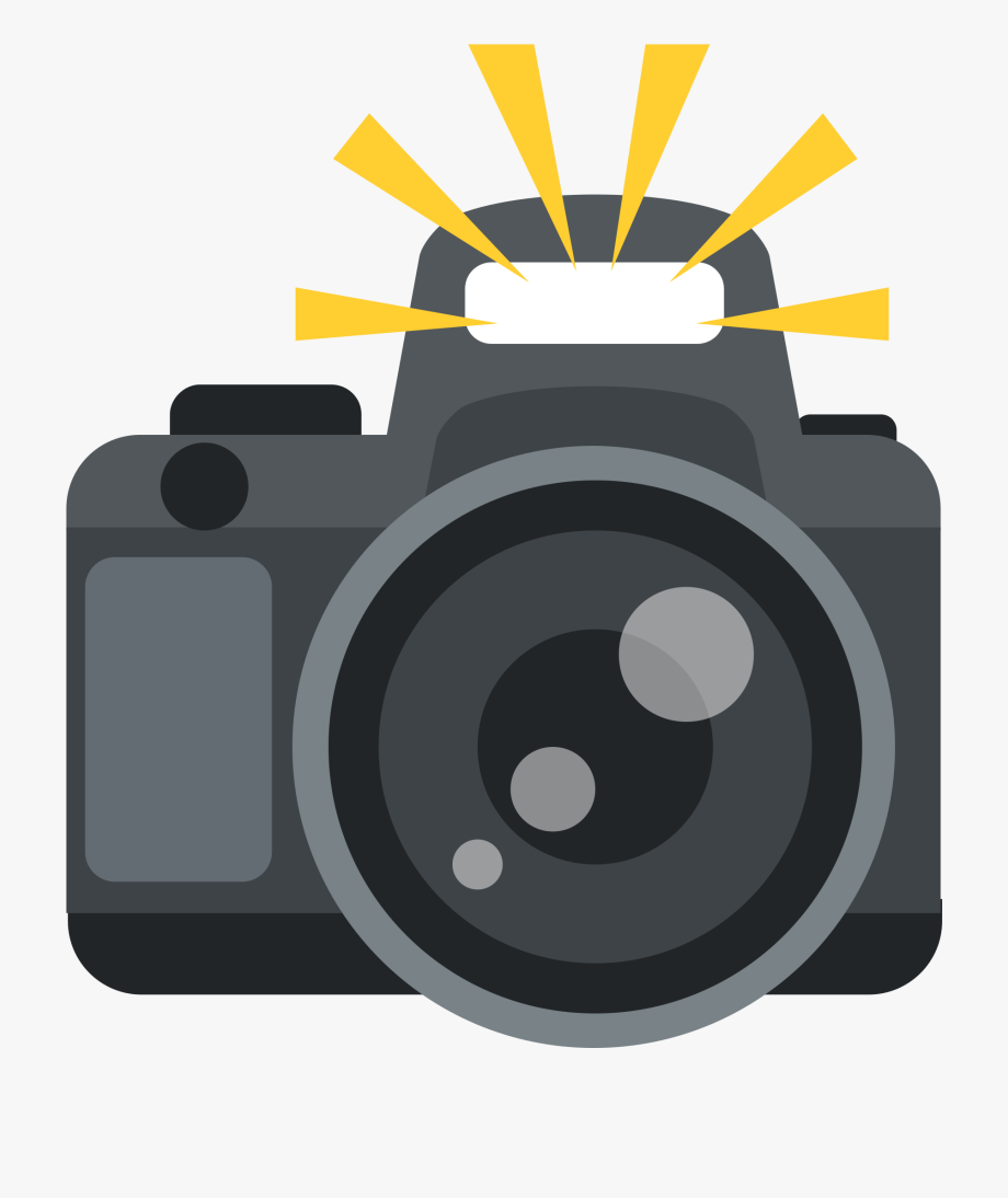 Photographer clipart camera flash. With emojis free cliparts