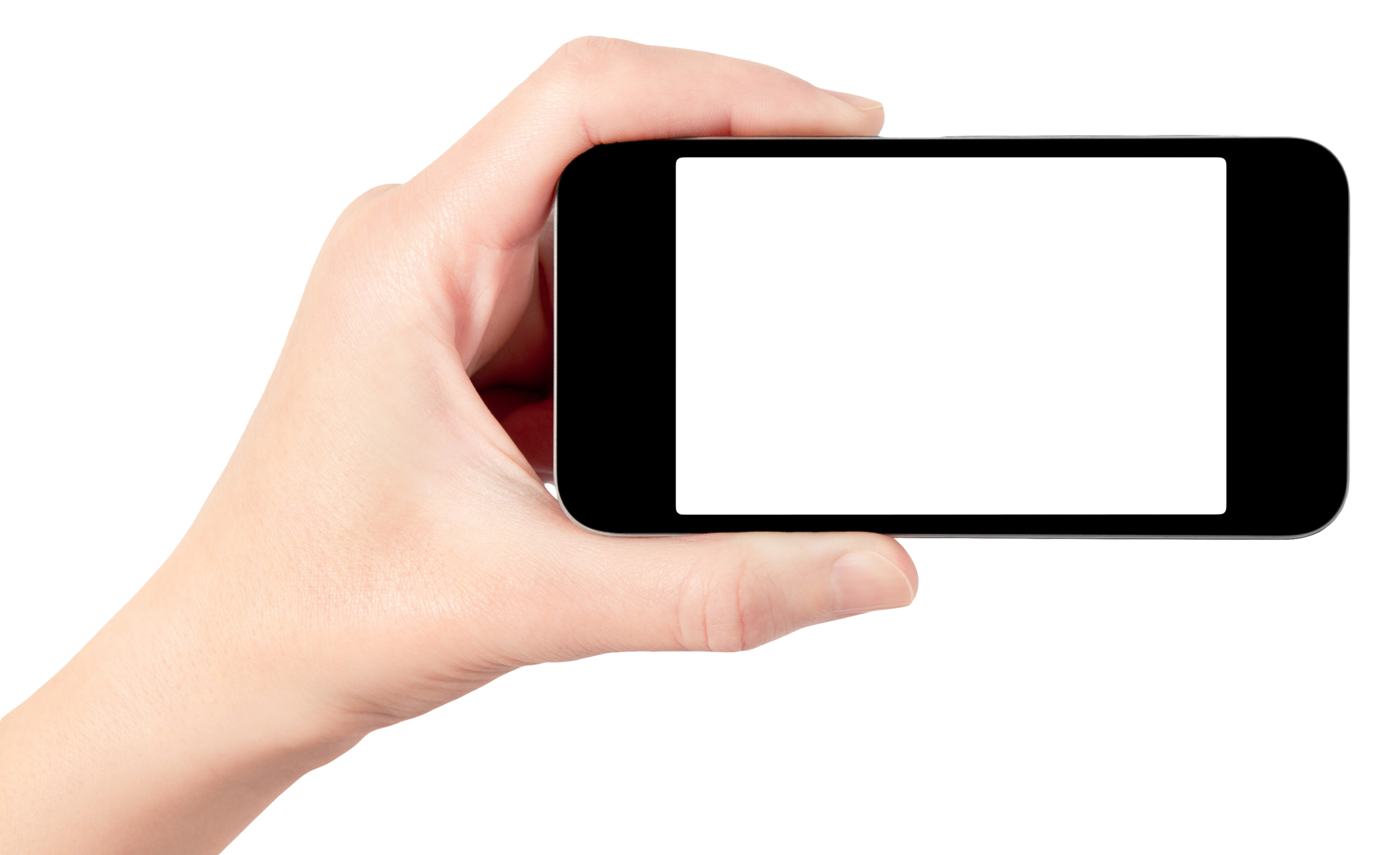 Hand clipart computer. Phone in png image