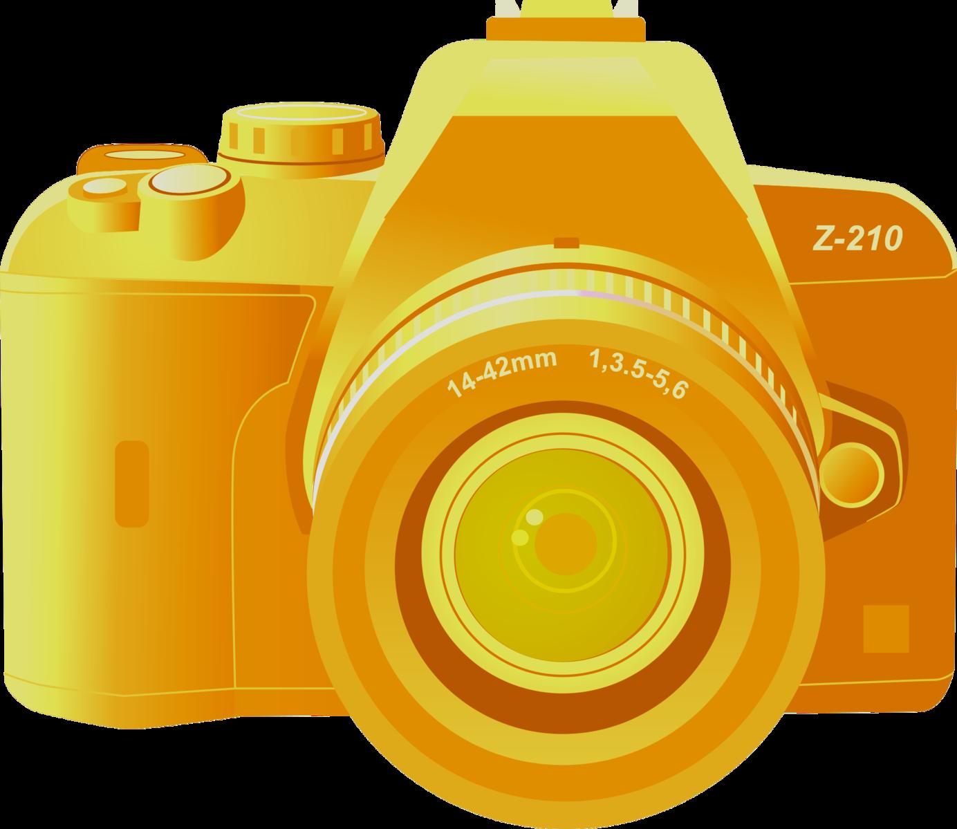 Icons clip art gold. Computer clipart digital camera