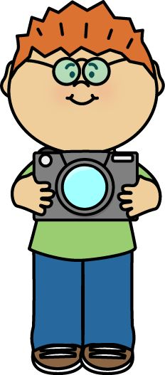 Yearbook clipart professional photographer. Child with camera