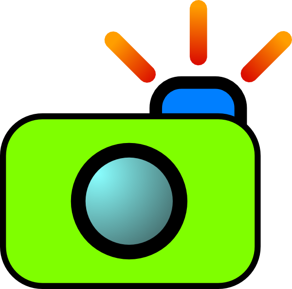 Clip art at clker. Clipart camera clear background
