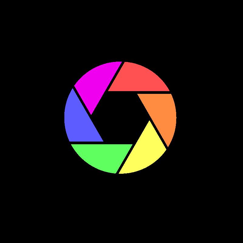 Digital in color medium. Clipart designs camera