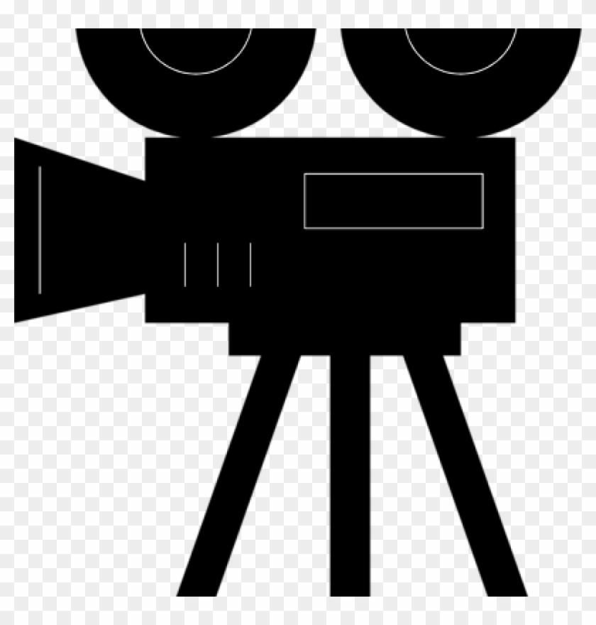 Camera banner black and. Film clipart camara