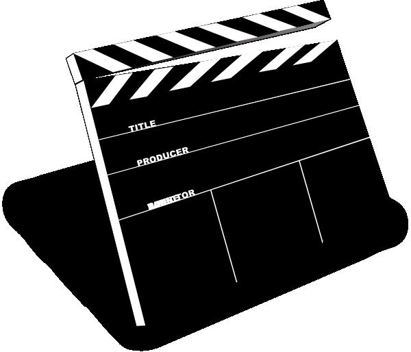 Ciak clip art at. Clipart chair hollywood director