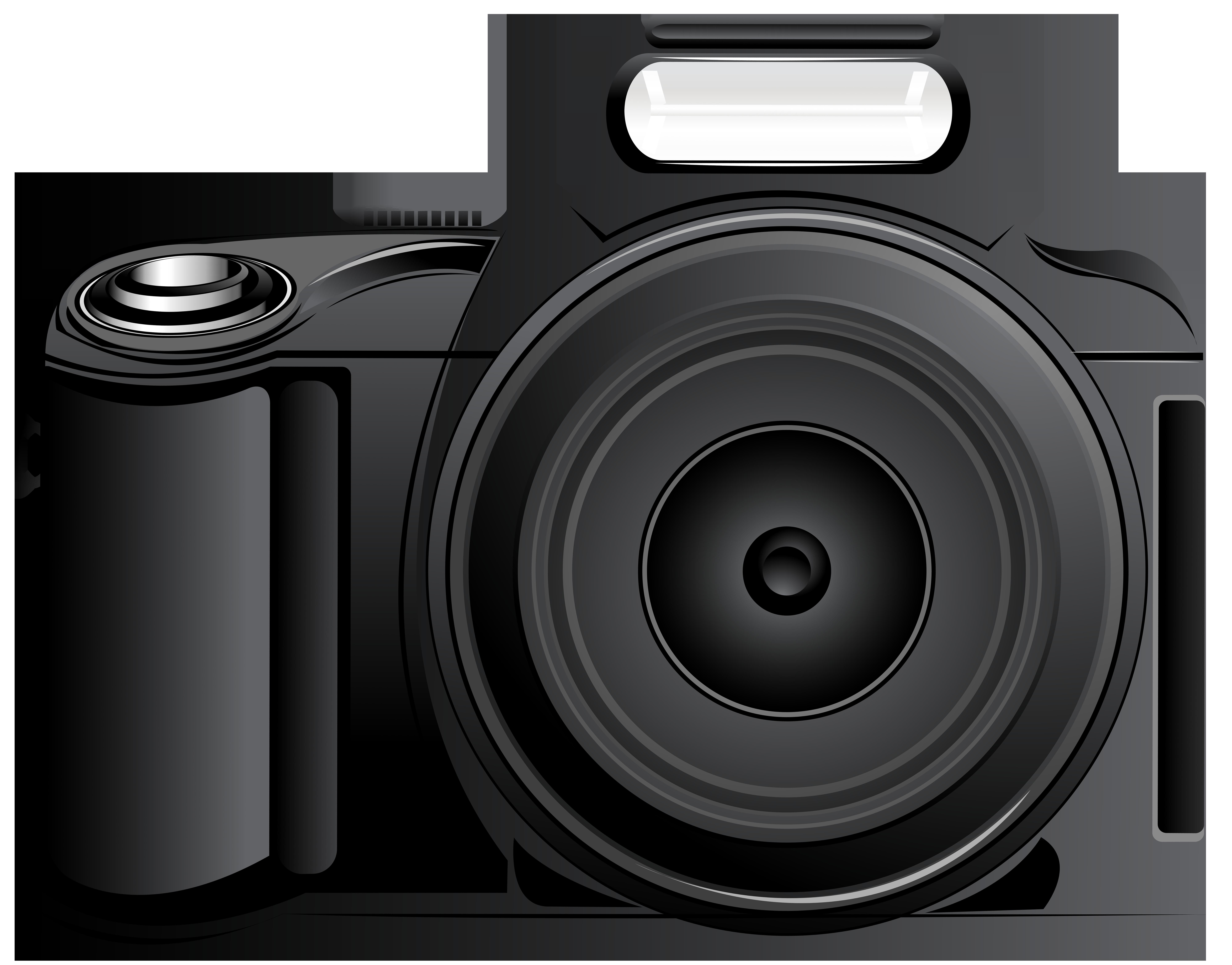 Camera clipart digital camera. Png clip art image