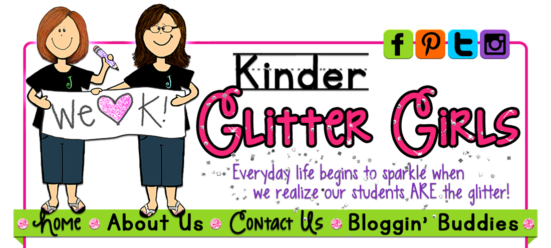 July clipart header. Kinder glitter girls