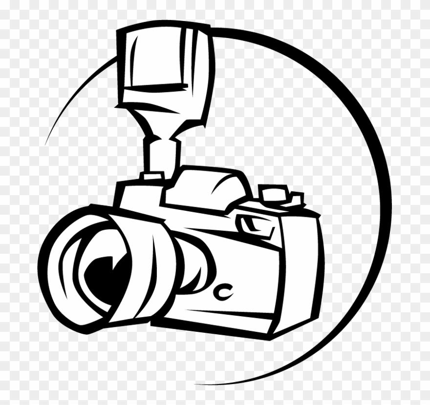 Clipart camera line art. Dslr png transparent