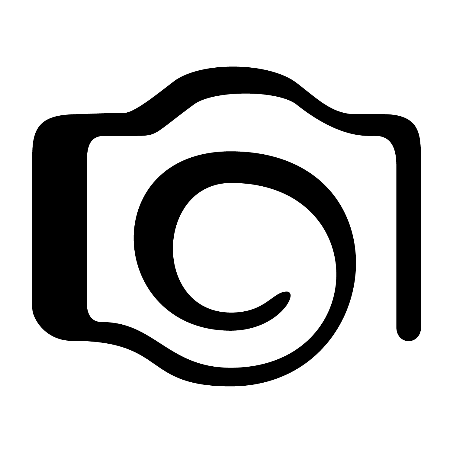Logo png . Photography clipart cmera