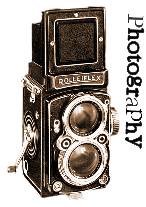 yearbook clipart old camera