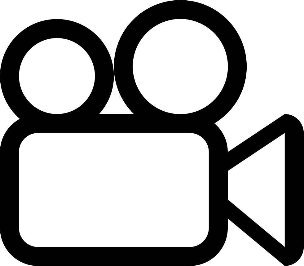 Clipart camera outline.  collection of video