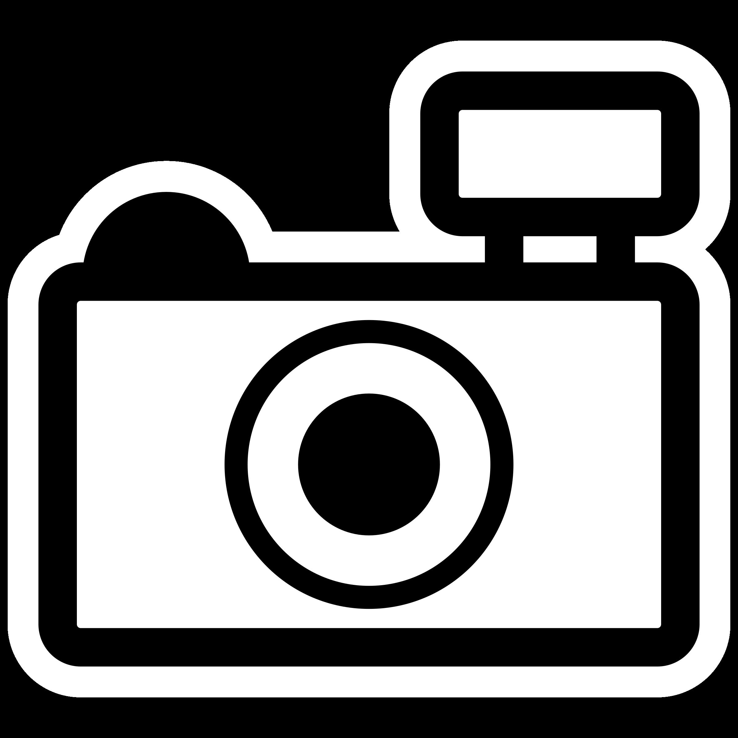 Page of clipartblack com. Clipart camera outline