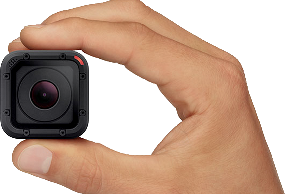 Gopro cameras icon web. Clipart hand camera