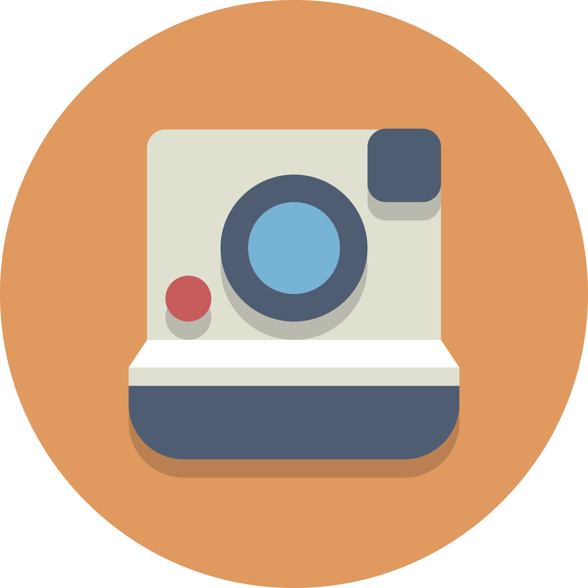 File circle icons polaroidcamera. Clipart camera polaroid camera