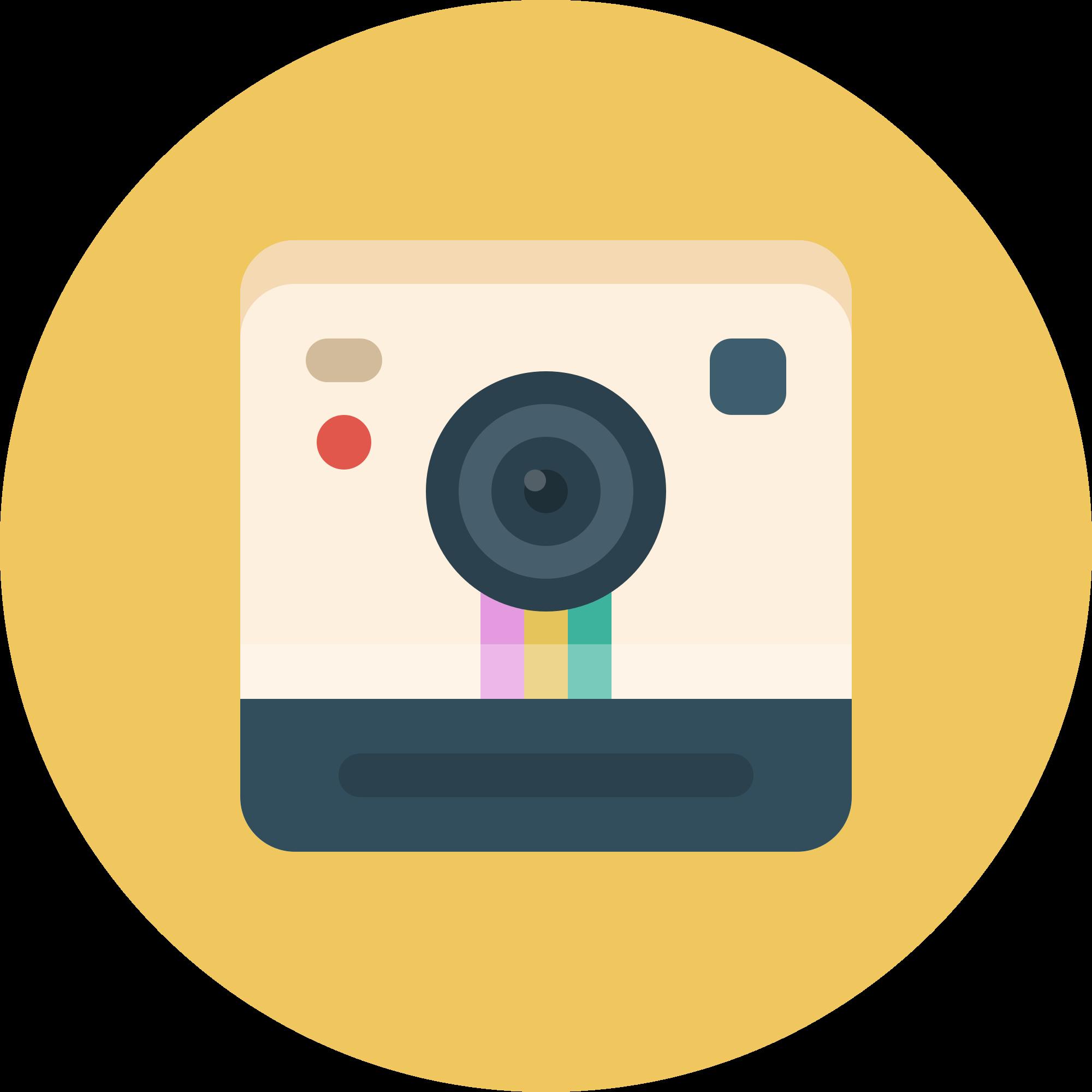 File ballonicon svg wikimedia. Clipart camera polaroid camera