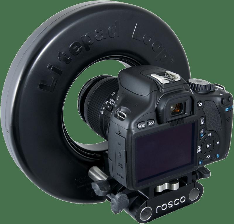 Clipart camera slr camera. Litepad loop rosco s