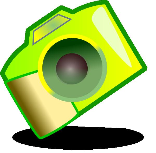 Yellow clip art at. Clipart camera snapshot