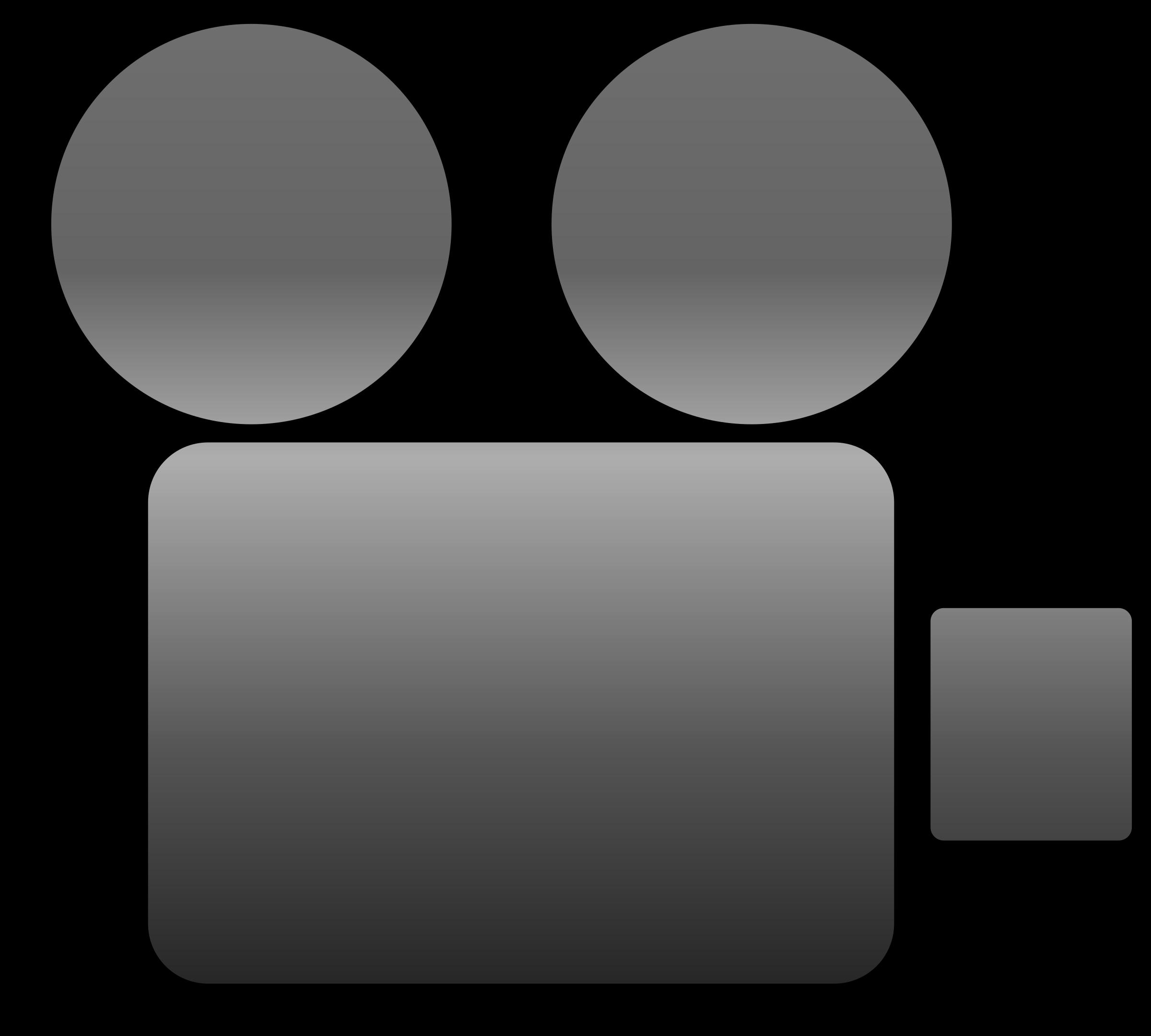 Video camera icon big. Politics clipart social welfare