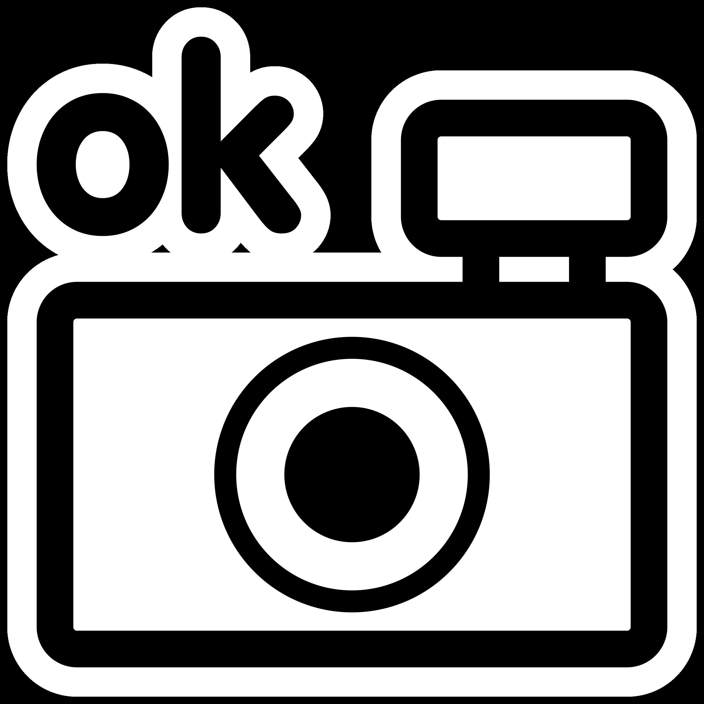 Square clipart camera. Mono test big image