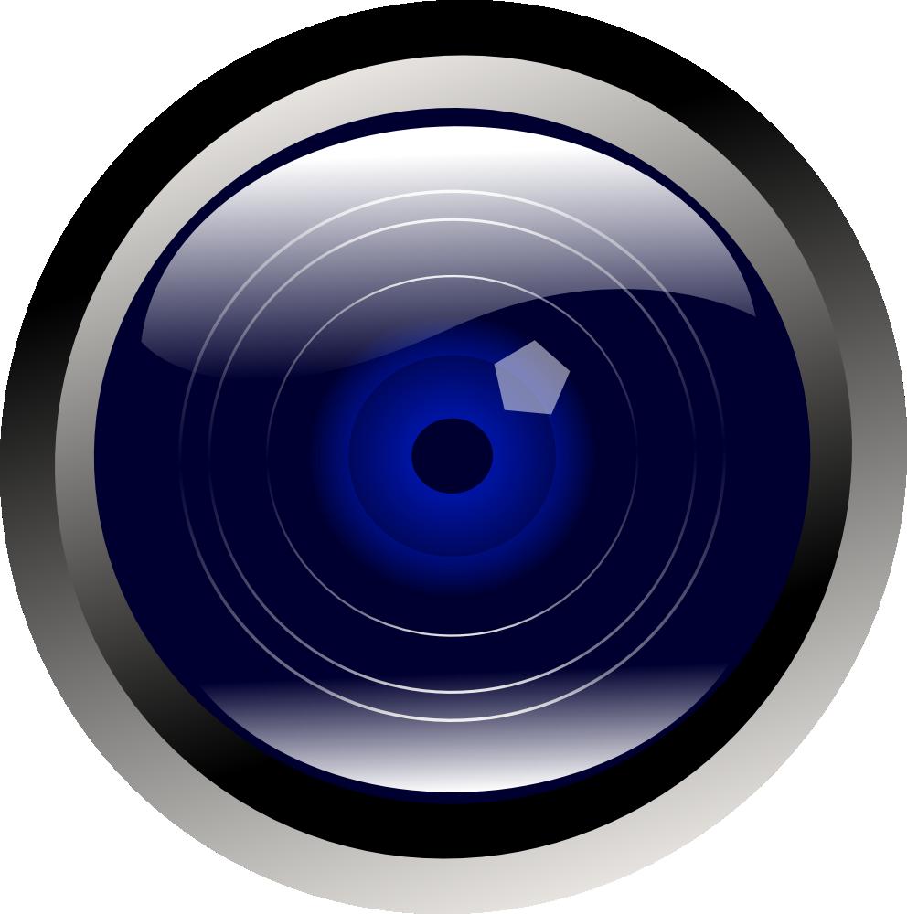 Square clipart camera. Onlinelabels clip art blue
