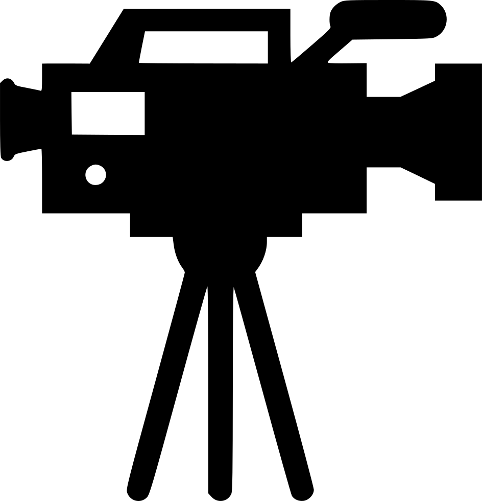 Multiplication clipart icon. Tv camera svg png