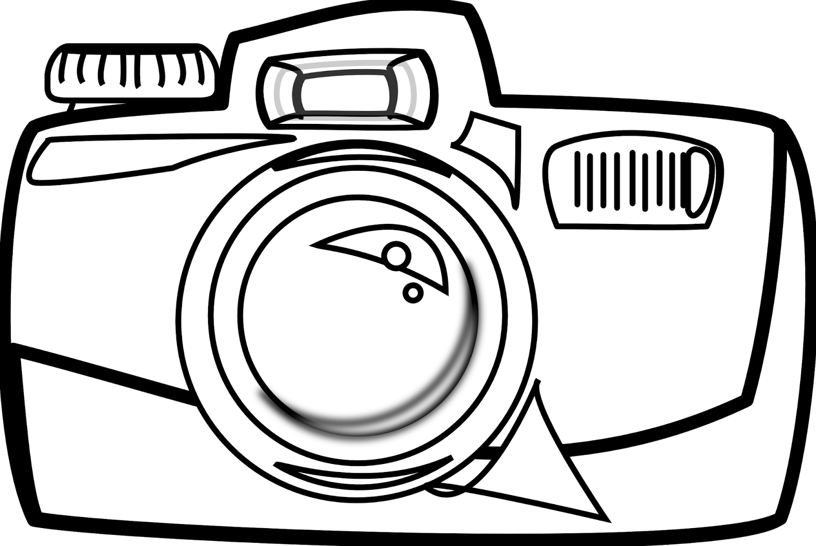 Cartoon drawing at getdrawings. Clipart camera tourist