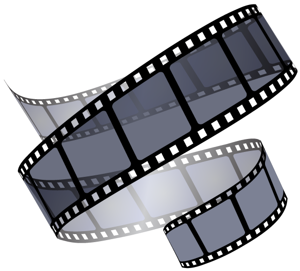 Film clipart film reel. Gerda muller vlogging made