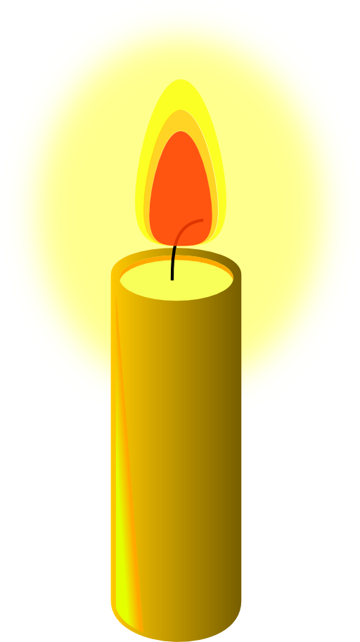 Beeswax candle . Furniture clipart dusting