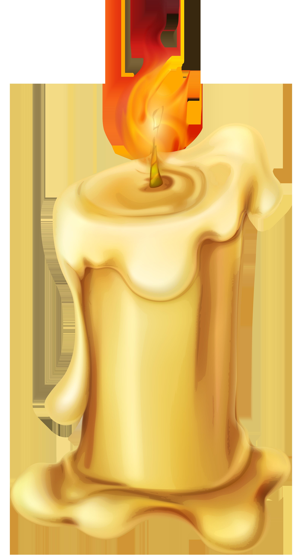 Candles clipart transparent background. Candle png clip art