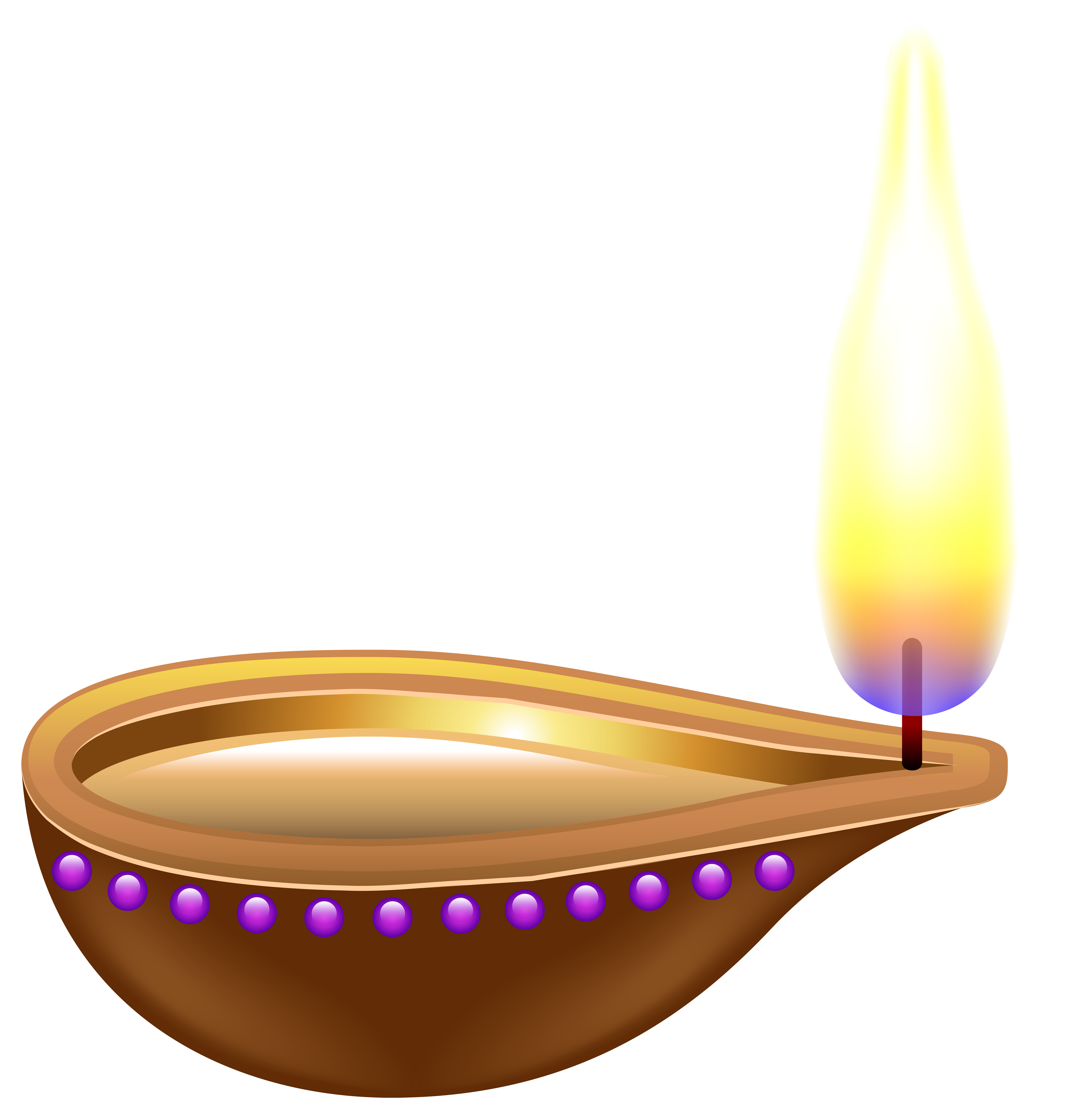 India candle transparent png. Lamp clipart deepam