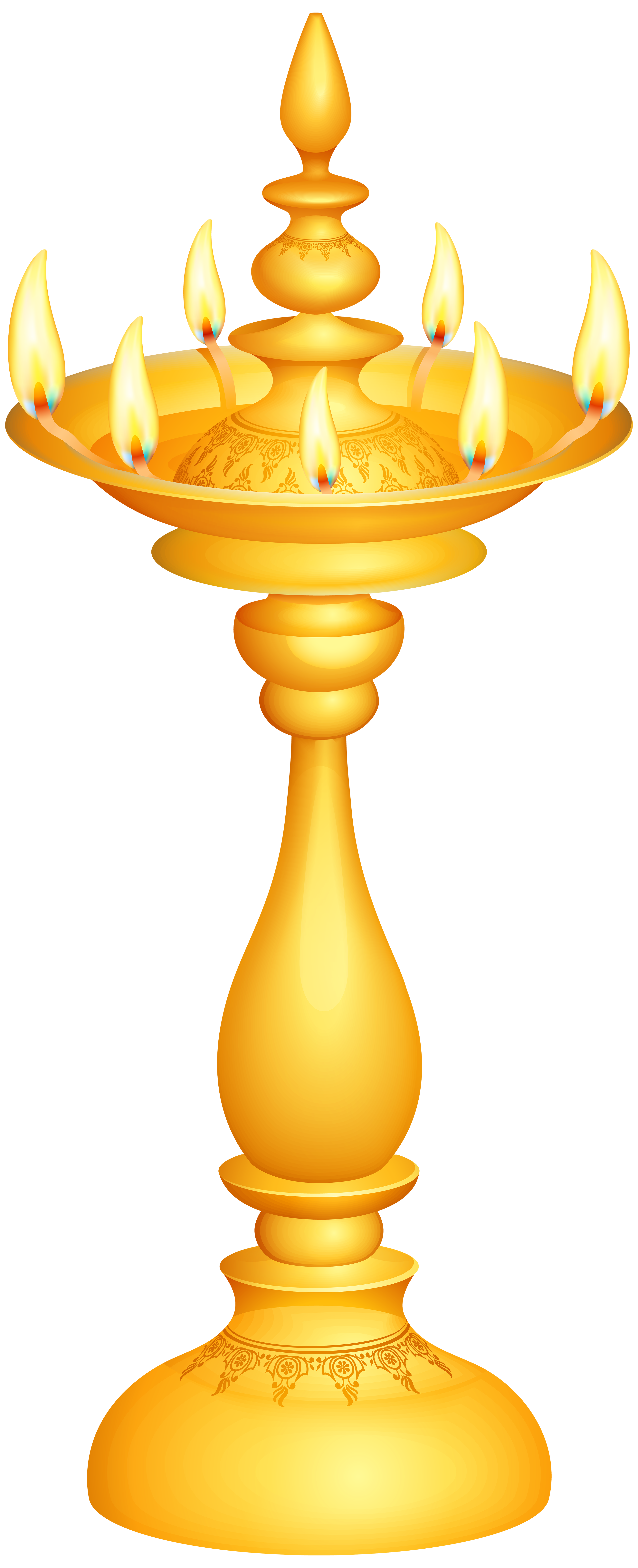 Lamp clipart indian oil. Deco candlestick png clip