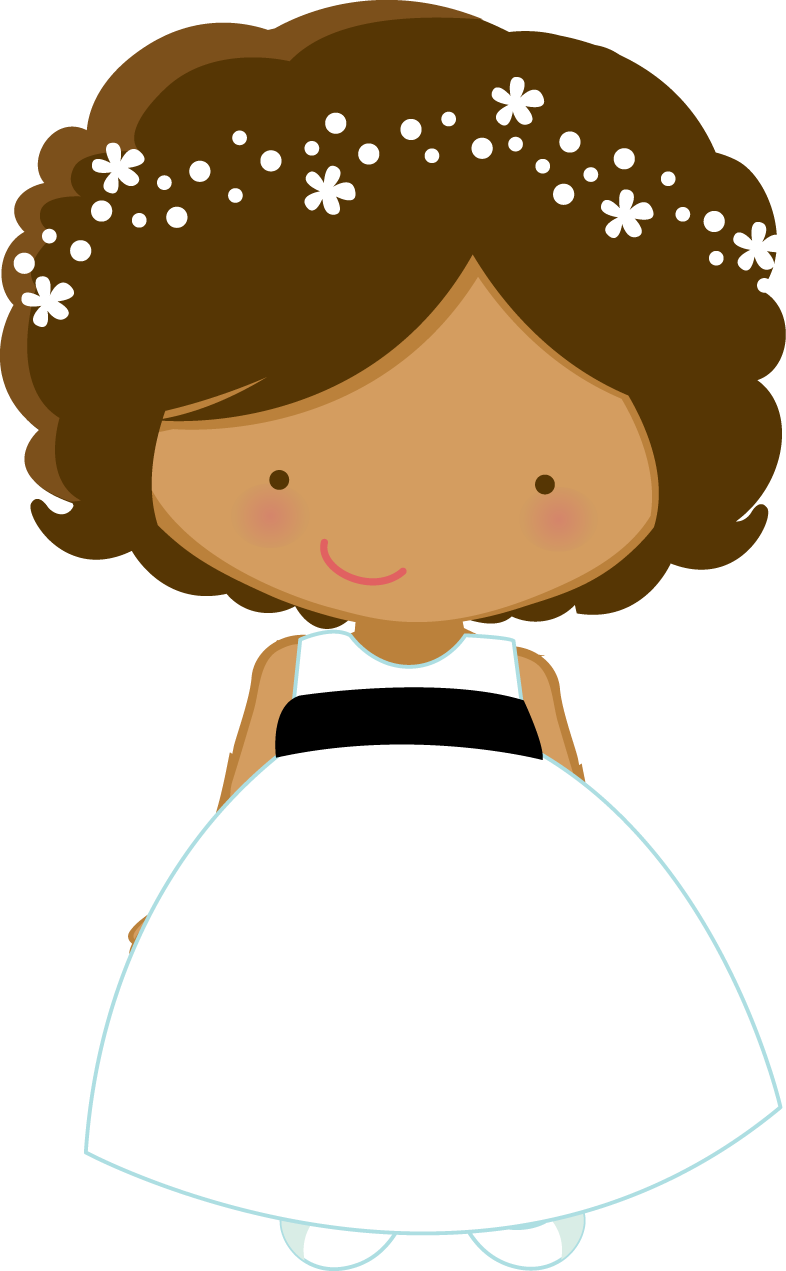 dress clipart flower girl dress