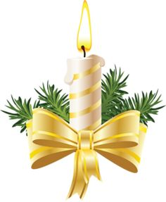 Clipart candle holiday candle.  best christmas candles