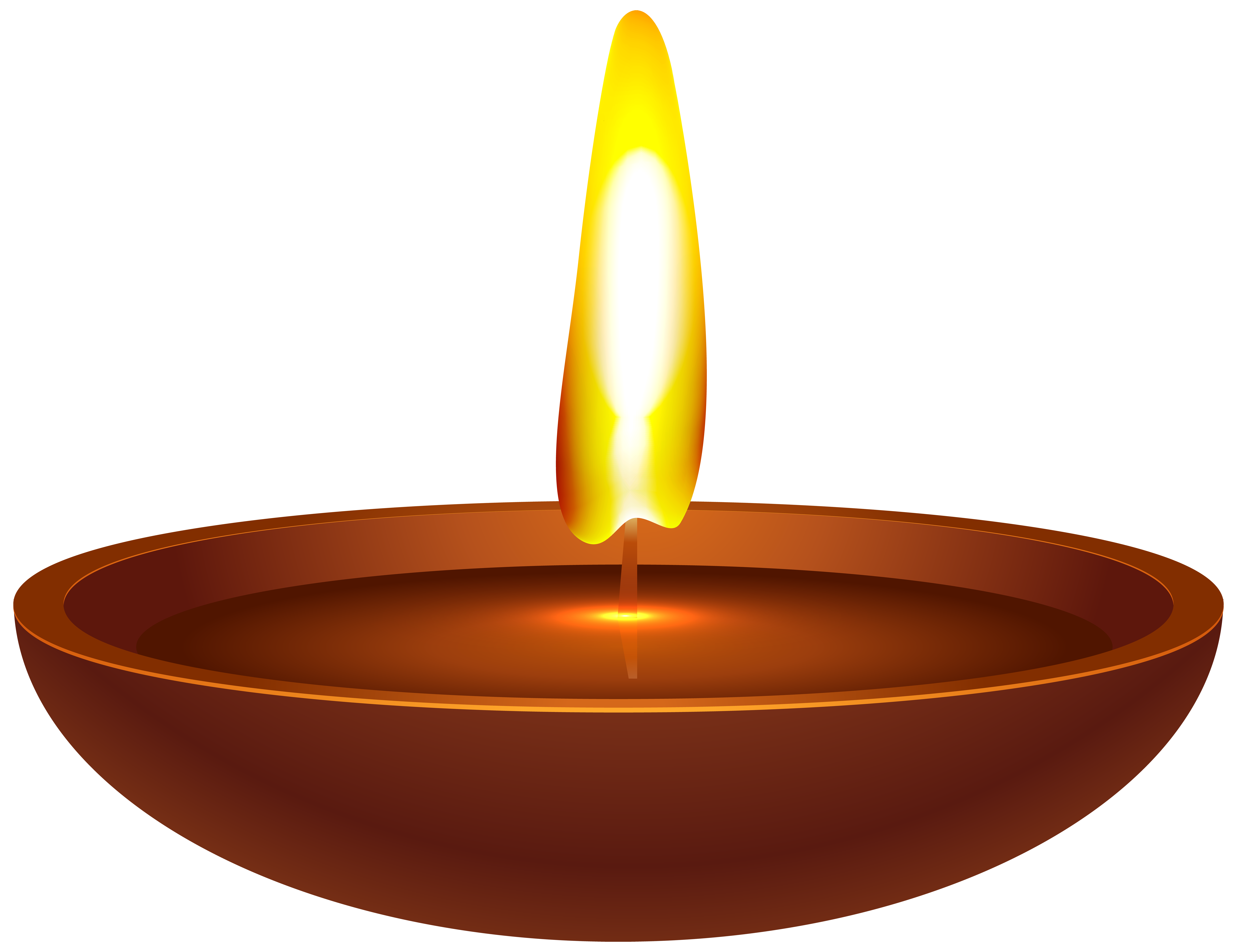 Wax india candle transparent. Oil clipart flour