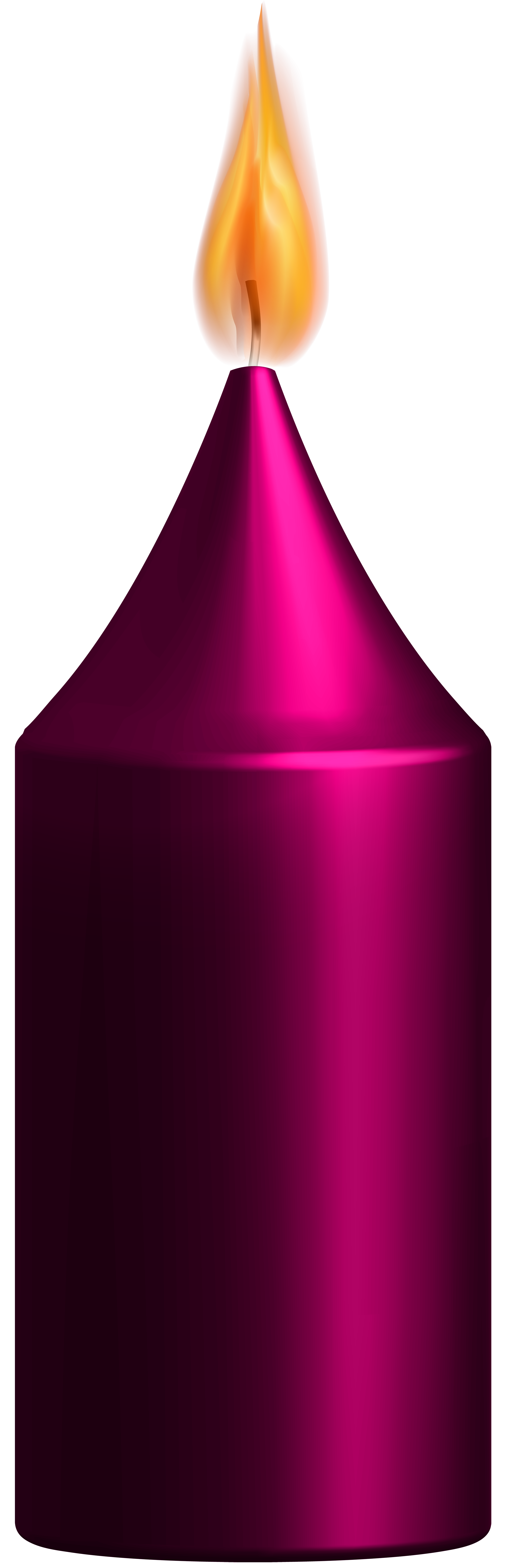 Clipart candle pink candle. Png clip art best