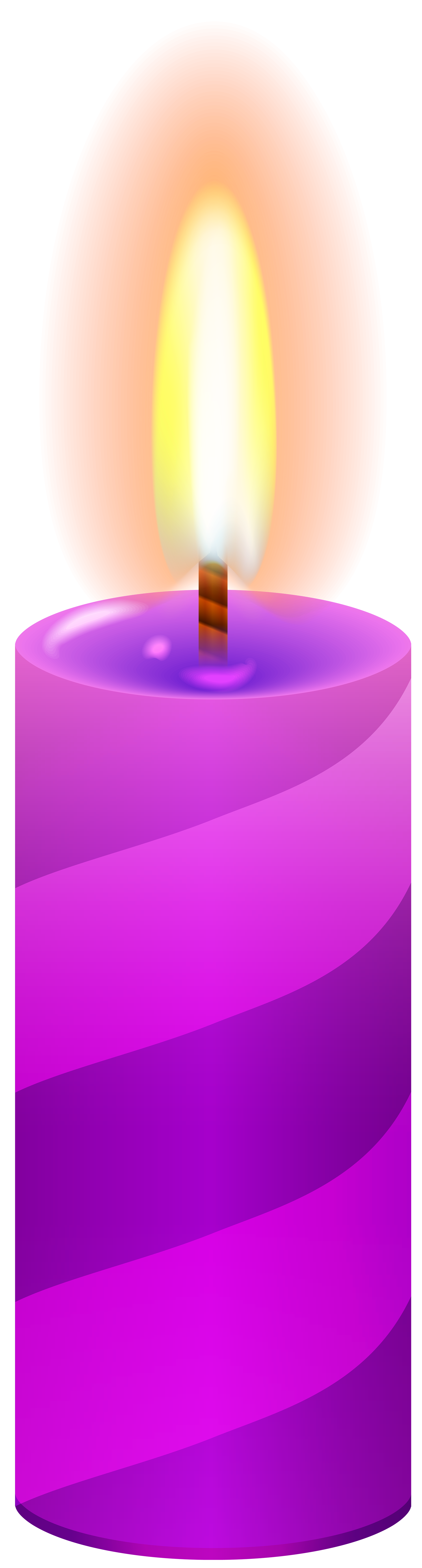 Purple png clip art. Clipart candle pink candle