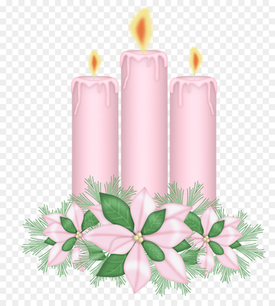 Clipart candle pink candle. Flower cartoon