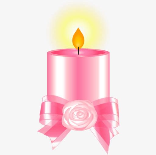 Clipart candle pink candle. Png bow tie