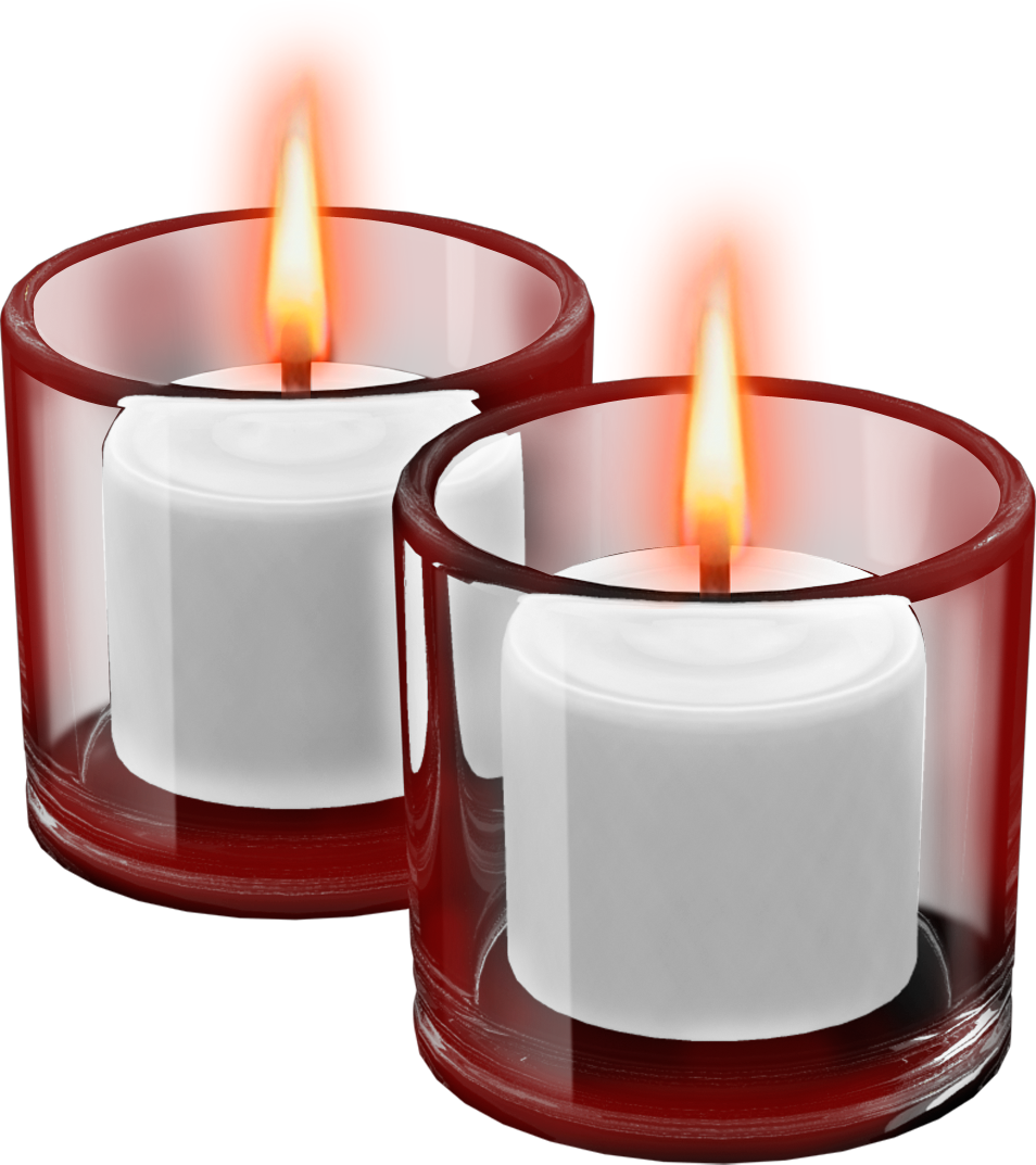 Free clipart candle. Red cups with candles