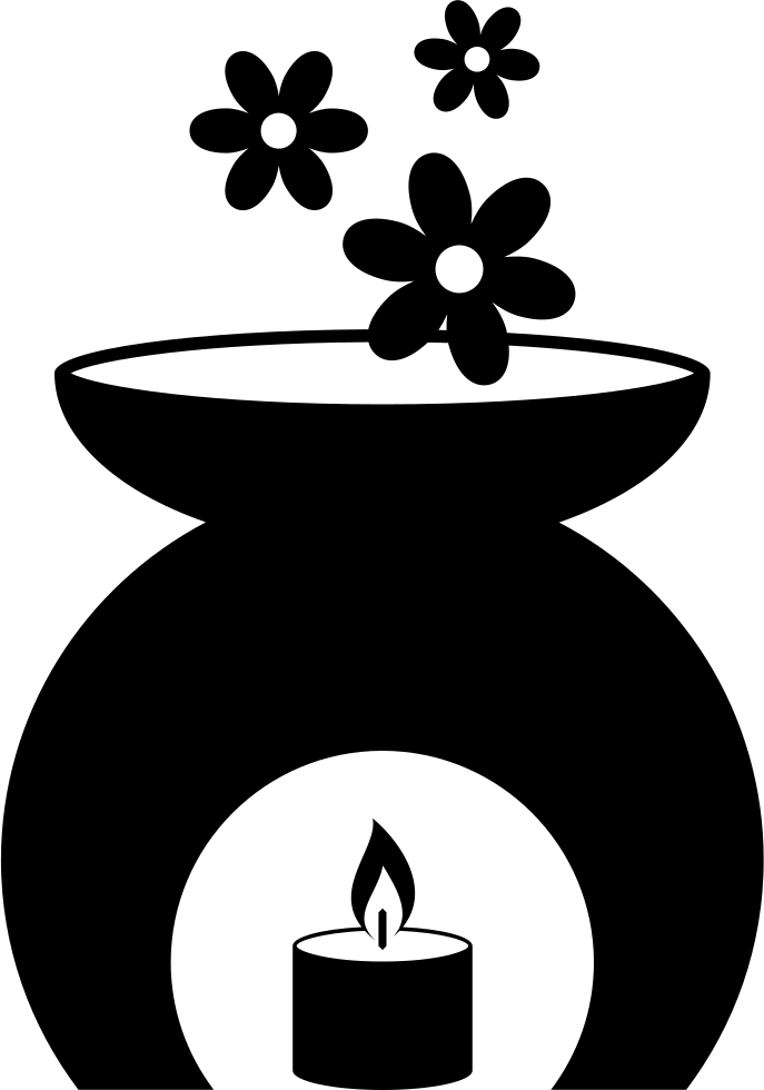 Scented svg png icon. Clipart candle symbol