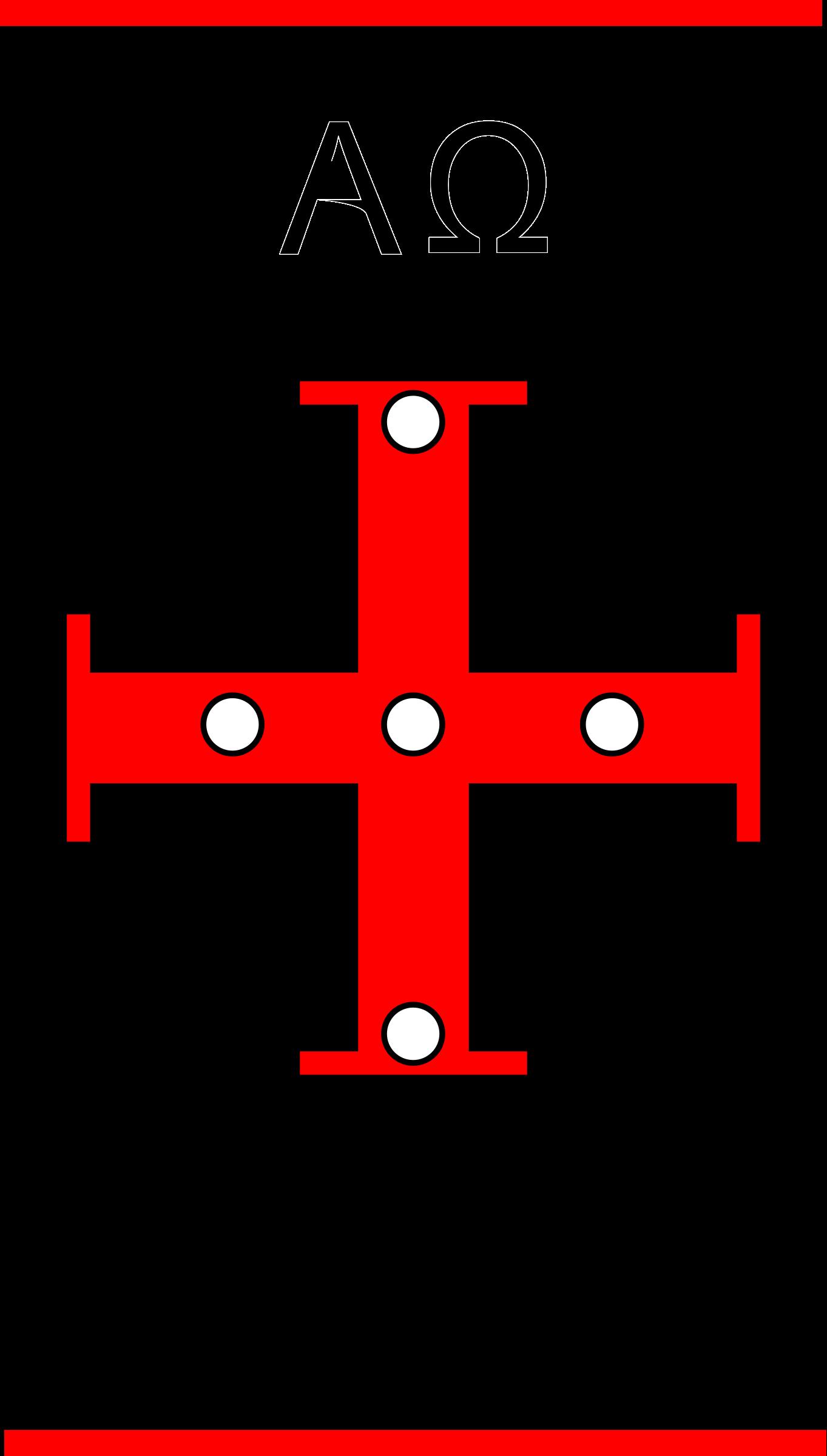 Clipart candle symbol. Paschal symbols big image