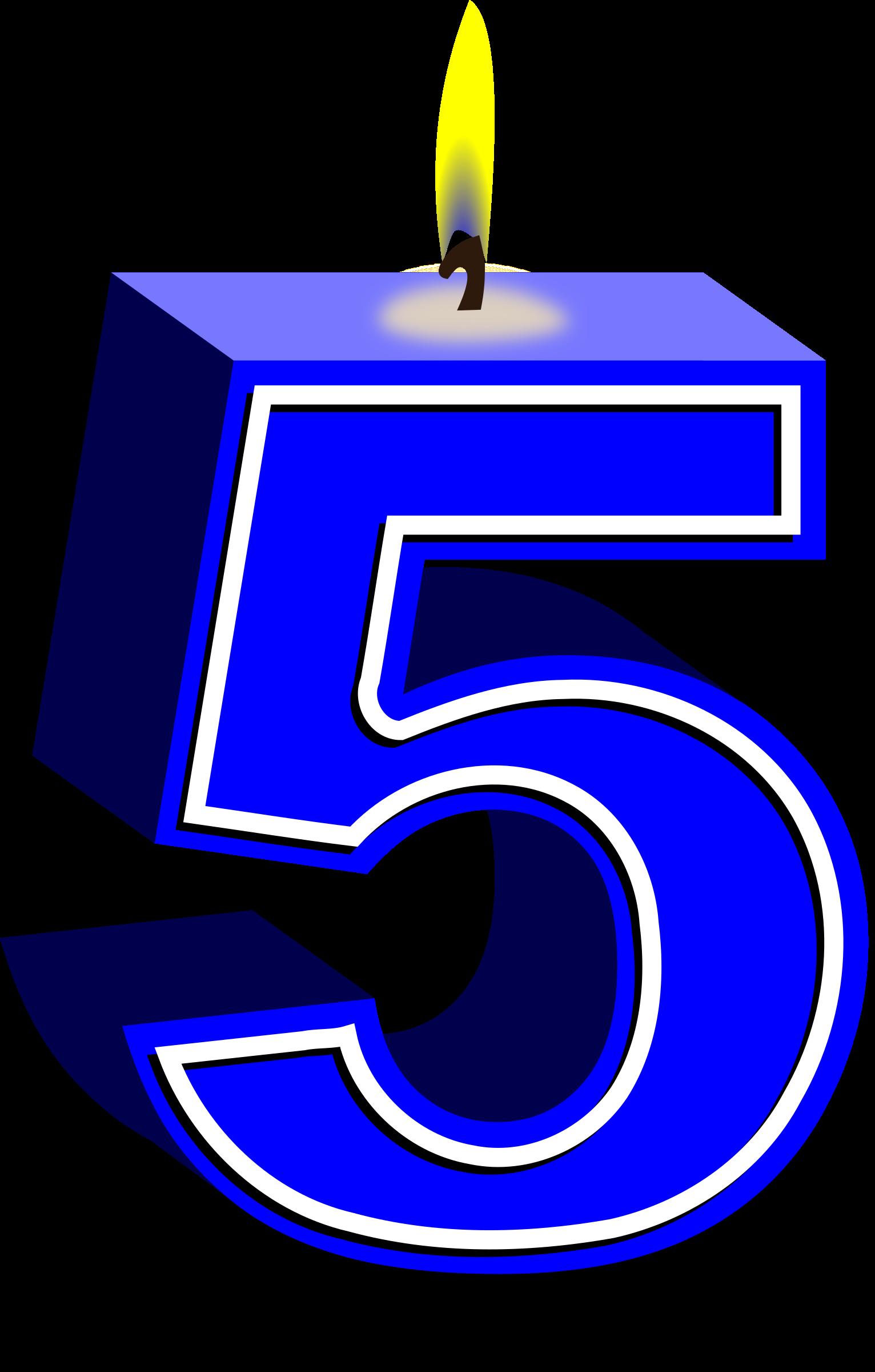 Clipart candle symbol. Birthday blue big image