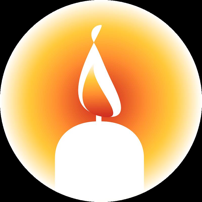 Funeral clipart event. Images of yahrzeit candle