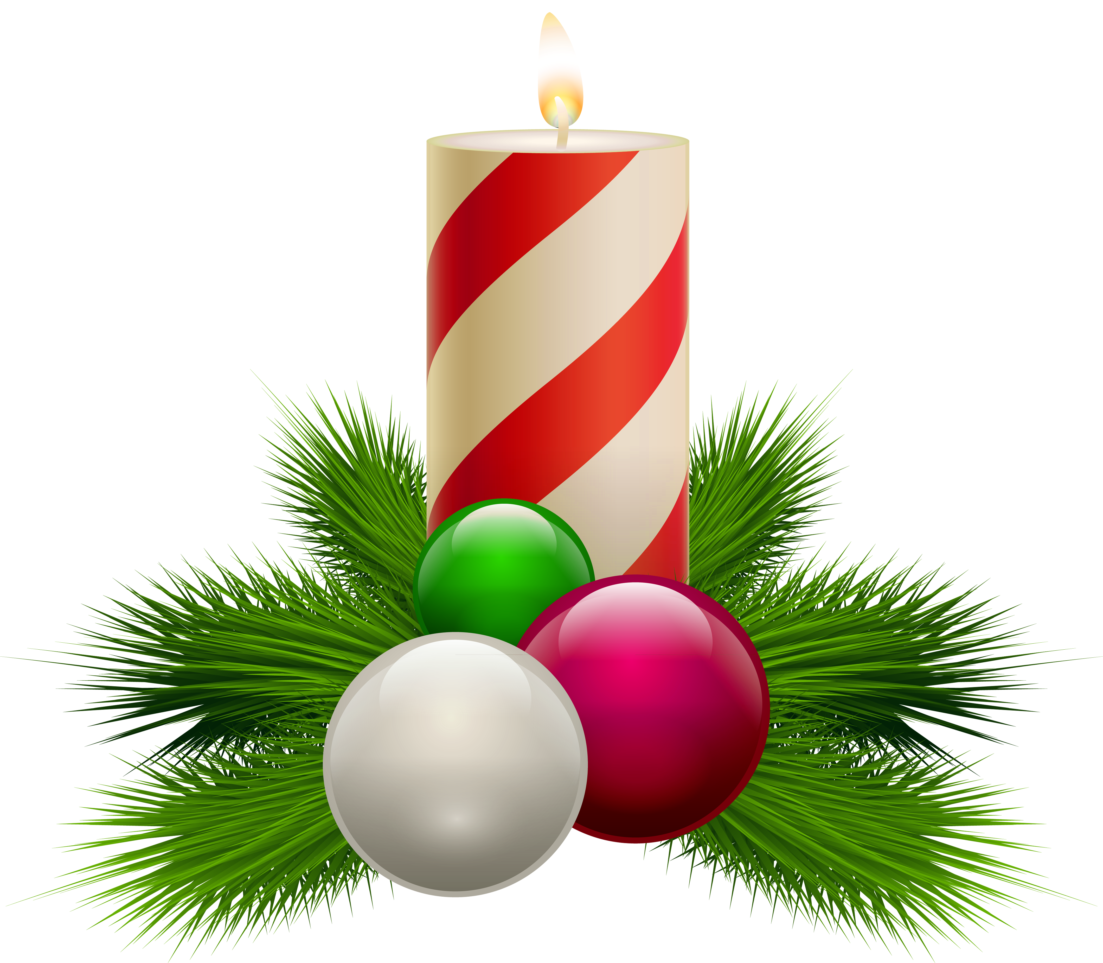 Transparent christmas png gallery. Clipart candle white background