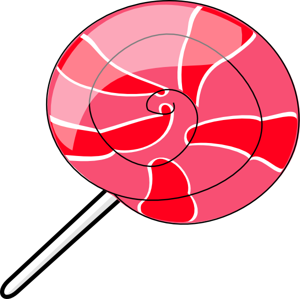 Large pink lollipop clip. Fight clipart animated