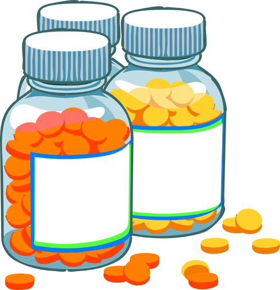 Professional clipart medical professional. Blank medicine bottles clip