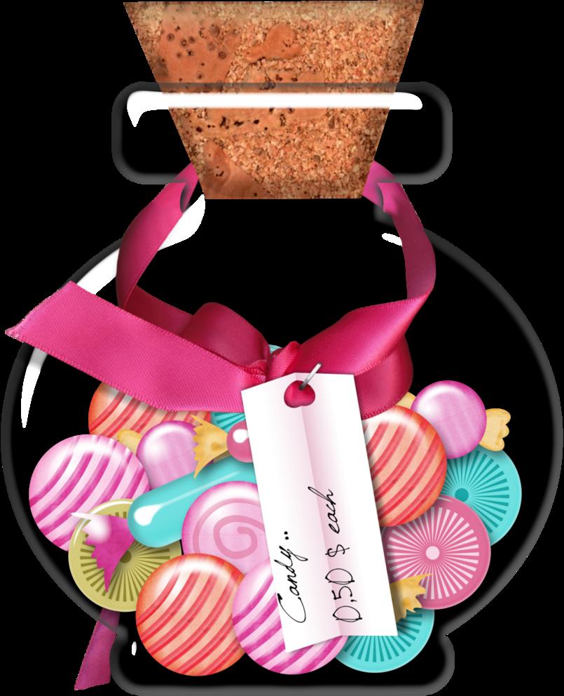 Of candy by rosemoji. Lollipop clipart jar